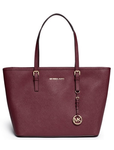 Сумка Michael Kors Jet Set Travel Bordo / Бордовая