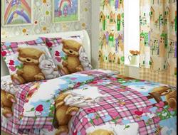 Артикул 1575. 1.5 спальный комплект постельное белья из поплина с эффектом 3д. Только 100% хлопок, не линяет, не смыкается, не образует катышков.