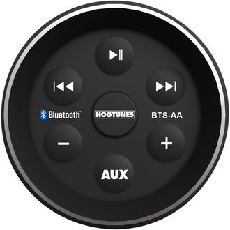 BTS-AA HOGTUNES CONTROLLER MUSIC IN-FAIRING BLUETOOTH® BLACK (1996-2013)