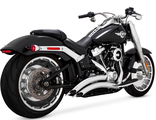 26075 Vance&Hines BIG RADIUS 2-INTO-2 CHROME