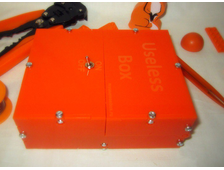 Useless Box (оранжевая,собранная)