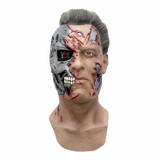 арни, терминатор, шварцнеггер, маска, страшная, латекс, латексная, арнольд, робот, t800, terminator