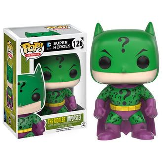 ПРЕДЗАКАЗ! Funko Pop! Batman Impopster Riddler Pop! Vinyl Figure  | Фанко Поп! Бэтмен в образе Загадочника (самозванец)
