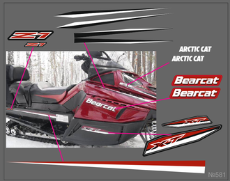 Arctic Cat Bearcat 2000 XT ES Z1 #581