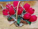 букет из шоколадных конфет, корзина из конфет, купить цветы из конфет
