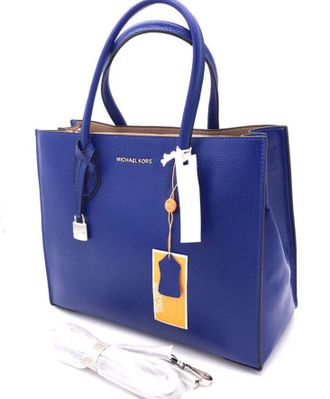 Сумка Michael Kors Mercer Blue / Синяя