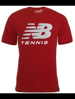 Футболка New Balance джерси спортивная, цвет красный