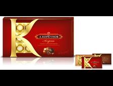 Шоколадные подарочные конфеты Коркунов 190 грамм