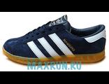 Кеды Adidas Hamburg темно-синие