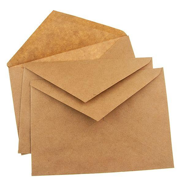 Конверты из крафт бумаги 114 162