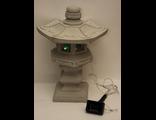 """Садовая фигура из бетона """"Японский фонарь""""  на солнечных батареях H-46см"""
