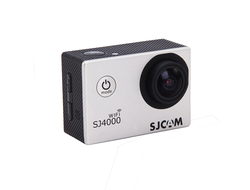 Экшн-камера SJCAM SJ4000 Sports HD DV WiFi серебрянная