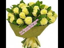 25 белых роз Верность