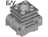! Б/У - Technic Engine Cylinder without Side Slots, Light Bluish Gray (2850b / 4234251) - Б/У