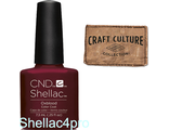 CND Shellac Oxblood - Craft Culture Collection 2016