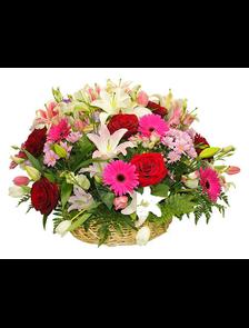 Корзина «Цветущая»