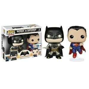 Фигурка Funko POP! Batman Vs Superman (Dawn of Justice) (Metallic) (2-Pack) - Фанко ПОП! Бэтмен прот