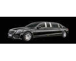 Factory armored Mercedes-Maybach S650 Vv222 Guard Pullman VR10 (with integrated special protection from MB Guard) , 2019 YP