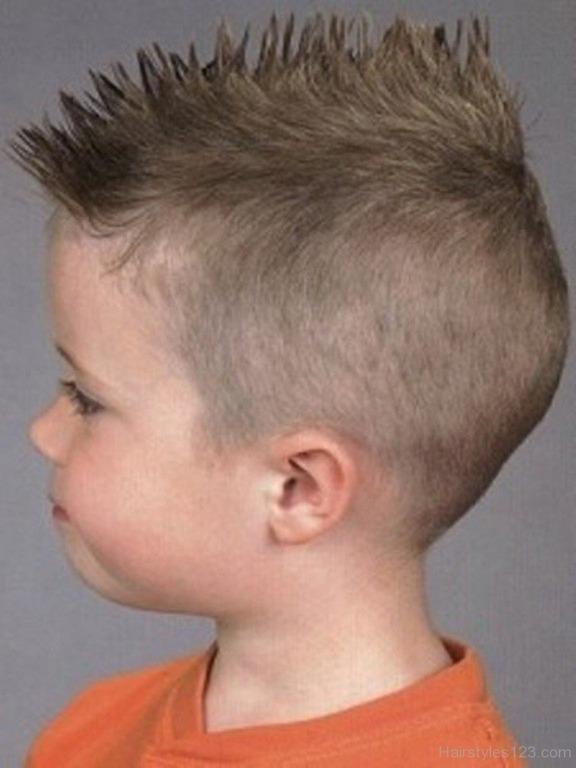 Детские причёски ирокез для мальчиков