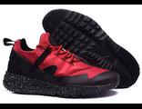 Кроссовки Nike Huarache красно-черные