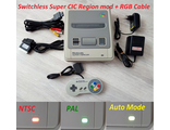 SuperCIC Регион Мод Super Nintendo SNES NTSC/PAL