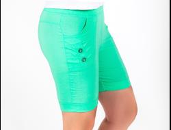 ШОРТЫ 1156. Яркие летние шорты из стрей-коттона. Длина изделия по внешнему шву 44 см, по внутреннему шву 16 см.