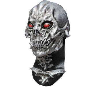 череп, маска, латексная, латекс, силикон, резиновая, страшная, ужасная, на голову, металл, mask
