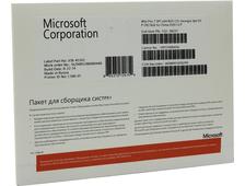 Microsoft Windows 7 Professional RUS CIS-Georgia 64-bit COA 1PK FQC-08297