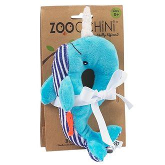 Детские погремушки Zoocchini Rattle Кит синий