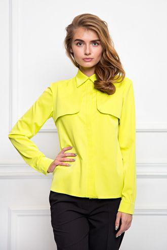 Блуза цвета Лайм (Б-34-1)