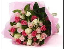 Букет из роз многоцветной Розы