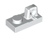Hinge Plate 1 x 2 Locking with 1 Finger On Top, White (30383 / 4213031 / 4262011)