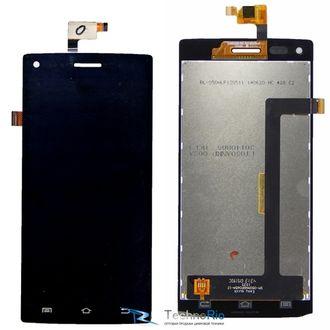 Дисплей экран с тачскрином для смартфона THL W11