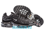 Nike Air Max Plus TN Men Black/Black/White