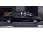 Various luxury elongated and armored VANs based on Mercedes-Benz V250d 4Matic EL W447 / Mercedes-Benz Vito Tourer 119 BlueTec 4Matic L, 2018 YP