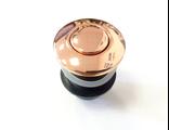 Кнопка пневматическая в цвете ROSE GOLD, розовое золото (КНР)