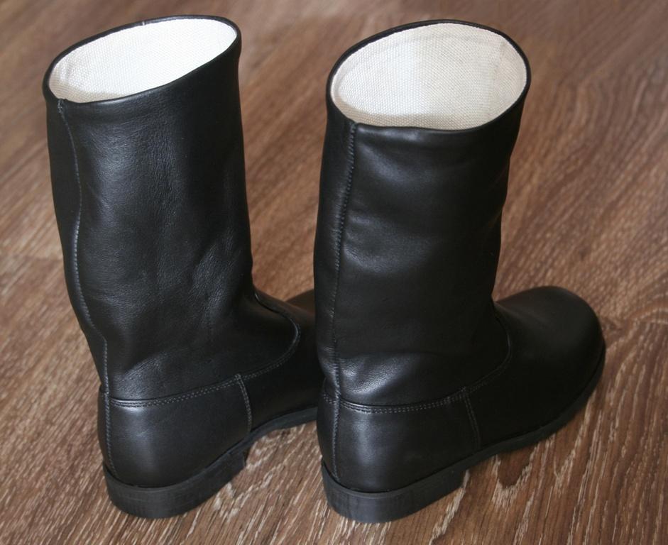 Хромовые офицерские сапоги 40 р средней полноты
