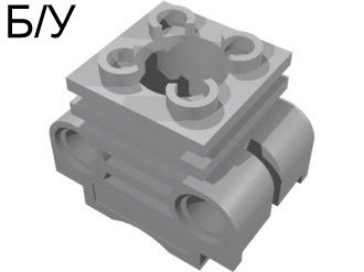 ! Б/У - Technic Engine Cylinder, Light Bluish Gray (2850 / 4234251) - Б/У