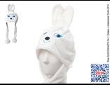 Купить шапку-маску «Талисман Зайка» Олимпийских игр в Сочи-2014