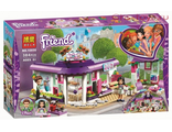 Конструктор BELA Friend Арт-кафе Эммы  (Аналог LEGO Friends) 384 дет
