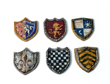 Decorative shields (painted)