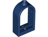 Window 1 x 2 x 2 2/3 with Rounded Top, Dark Blue (30044 / 6219783)