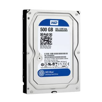 "Жесткий диск Western Digital Blue HDD 500 Gb SATA-III 3.5"" WD5000AAKX"