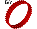 ! Б/У - Tread Large, Non-Technic (36 tread 'links'), Red (x1681 / 6021542 / 6070522 / 6089572) - Б/У