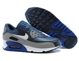 Кроссовки Nike Air Max 90 серо-синие