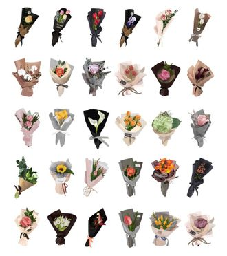 Bouquets of flowers p.2
