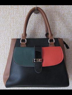 """Брендовая сумка - натуральная кожа в стиле """"Fendi"""""""