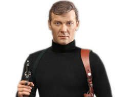 ПРЕДЗАКАЗ - Роджер Мур (актер) Roger Moore Officially Licensed Action Figure (RM001) - Did