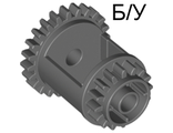 ! Б/У - Technic, Gear Differential, 24-16 Teeth, Dark Gray (6573) - Б/У