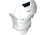 Large Figure Torso with SW First Order Stormtrooper Armor Pattern, White (21561pb07 / 6135564)